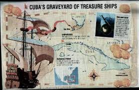 florida shipwrecks map cuba rov project side scan shipwrecks treasure