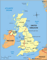 Southampton England Map by English Is Fun The British Isles