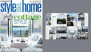 featured in style at home magazine u2014 muskoka