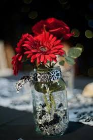 Red And White Centerpieces For Wedding by Submerged Red Black Rose Centerpiece Weddings Shades Of Red