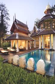 Thai Homes Luxury Mandarin Oriental Dhara Dhevi Hotel Chiang Mai Thailand