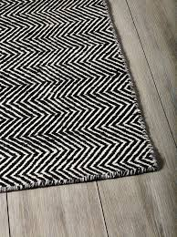Black And White Rugs Chevron Carpet House