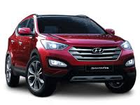 hyundai suv cars price hyundai santa fe on road price in thrissur trichur cartrade