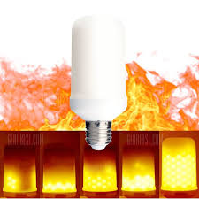 led flame effect fire light bulbs kwb led flame effect fire light bulbs 2 modes creative with