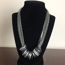 fashion jewelry chain necklace images Fashion jewelry jewelry silver tone 8 chain ring statement jpg