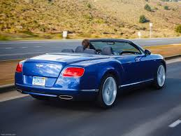 bentley coupe blue bentley continental gt speed convertible 2014 picture 68 of 127