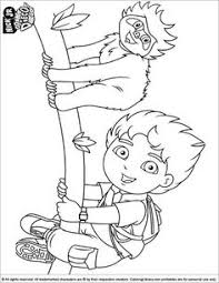 diego coloring sheet diego fun running coloring