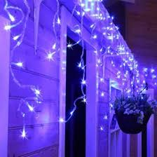 snowing icicle outdoor lights christmas icicle lights great for outdoor use uk christmas world