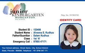 free id card templates 2012