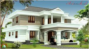 how much is 3000 square feet 3000 sqft contemporary style kerala house elevation architecture