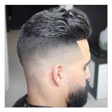 pic of back of spikey hair cuts spiky haircuts men also edge up hairline thick brushed back hair