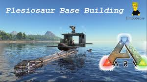 ark house designs ark survival evolved base building on a plesiosaur youtube