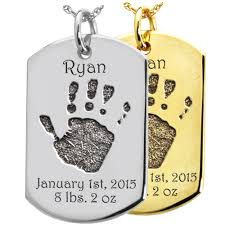 baby dog tags wholesale baby print on dog tag keepsake kindred keepsake