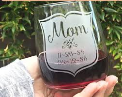 wine glass gifts wine glass etsy