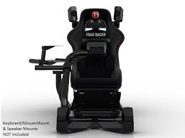 Racing Simulator Chair Trak Racer Rs6 Black Premium Gaming Racing Simulator Race Sim Seat