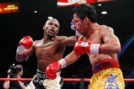solar plexus punch boxing floyd mayweather jr defeats manny pacquiao in super bout