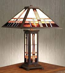 mission style table lamps s mission table lamp shades