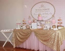 pink and gold baby shower decorations best 25 gold baby showers ideas on baby shower