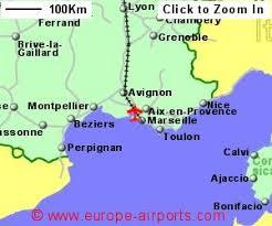 marseilles map marseille provence marignane airport mrs guide flights