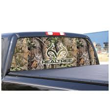 door film for glass camowraps realtree logo graphic rear window film for mid and