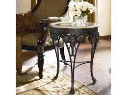 thomasville ernest hemingway elephant accent round table baer u0027s