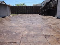 Dyed Concrete Patio by A Chicago And Chicago Suburbs Stamped Concrete Contractor