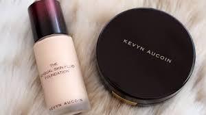 foundation wear test kevyn aucoin sensual skin fluid foundation