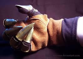 metal claws claw glove part 2 by lorddonovan on deviantart