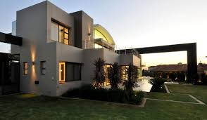 Stylish House Cal Kempton Park Designed By Nico Van Der Meulen Keribrownhomes