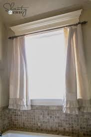 curtain ideas for bathroom windows best 25 bathroom window curtains ideas on curtain