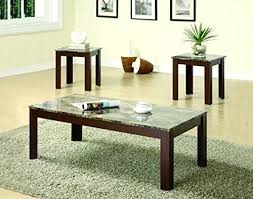 ebay coffee table sets coffee tables on ebay coffee table and end table set 3 piece faux