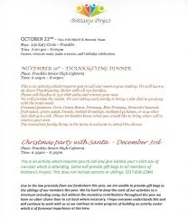 thanksgiving past dates home brittany project a facility for individuals with disabilties