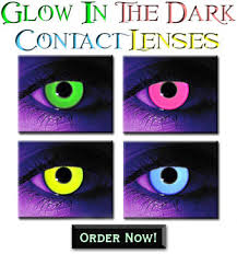 glow in the dark contacts rave contact lenses