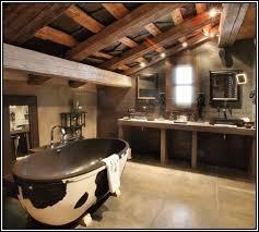 bathroom ideas western rustic bathroom decor with built in the