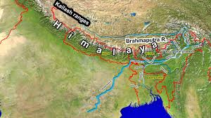 Map Of India And Nepal by Rivers Of India Youtube
