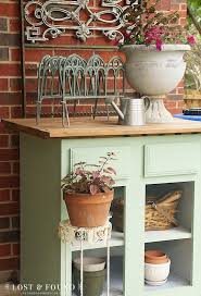 Potting Bench Ikea Base Cabinet Turned Potting Bench Hometalk