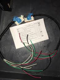 gm upfitter harness wiring battery accessory ground and crank