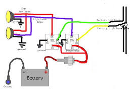 wiring diagram horn relay wiring wiring diagrams and instructions