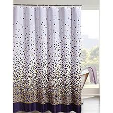 Brown Floral Shower Curtain Grey And Purple Shower Curtain Reflections 72 X 72 Purple Fabric
