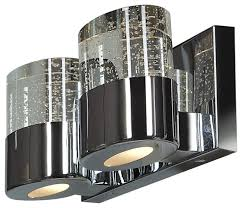 access lighting bubbles chrome wall sconce contemporary
