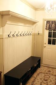 built in storage bench plans built in mudroom bench plans entry