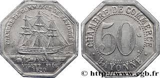 chambre de commerce de bayonne chambre de commerce de bayonne 50 centimes bayonne fnc 243834 nécessité