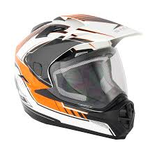 ktm motocross helmets stealth helmet hd009 adventure orange