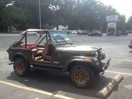 jeep eagle for sale 1977 jeep cj 7 golden eagle cj7 original survivor levi cj5