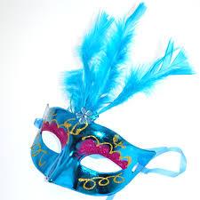 feather masks 10pcs lot multi color led feather mask party flash mask