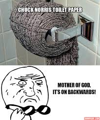 Toilet Paper Funny Mother Of God Funny Toilet Paper Is On Backwards Dump A Day