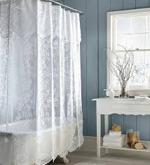 curtains for bathroom window ideas curve stainless steel frame