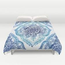 society6 mint and coral duvet covers queen 88