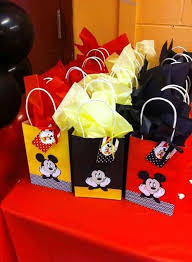 mickey mouse favor bags mickey mouse party birthday party ideas photo 4 of 6 catch my