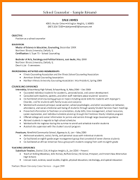10 counseling resume self introduce